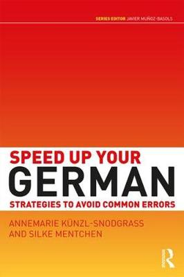 Speed Up Your German: Strategies to Avoid Common Errors (Paperback)