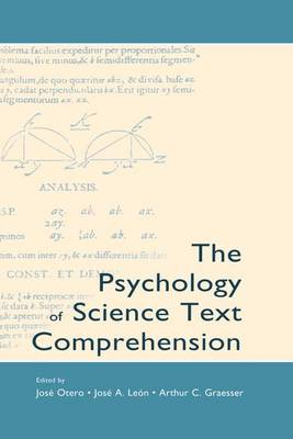 The Psychology of Science Text Comprehension (Paperback)
