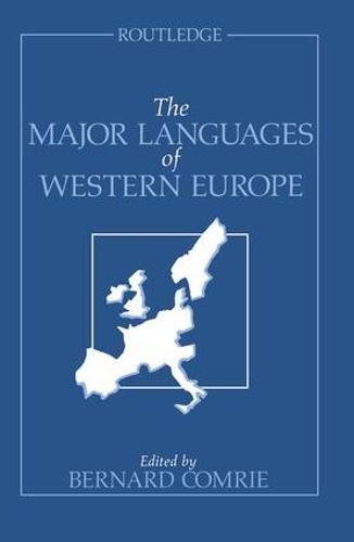 The Major Languages of Western Europe (Hardback)
