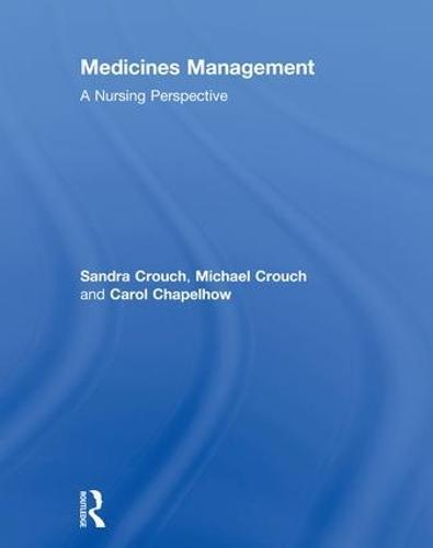 Medicines Management: A Nursing Perspective (Hardback)
