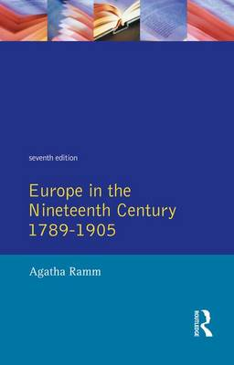 Grant and Temperley's Europe in the Nineteenth Century 1789-1905 (Hardback)