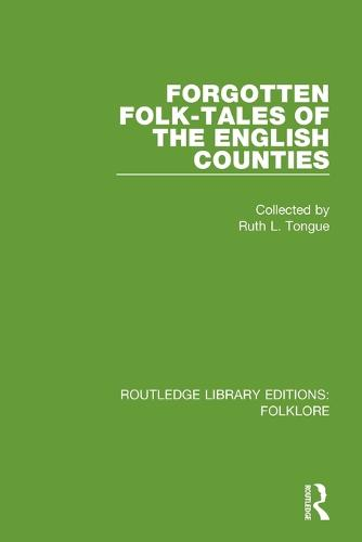 Forgotten Folk-tales of the English Counties Pbdirect (Paperback)