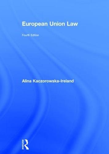 European Union Law (Hardback)