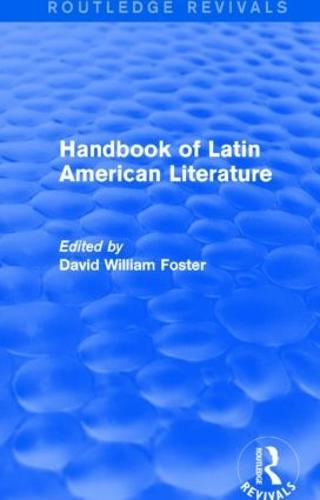 Handbook of Latin American Literature - Routledge Revivals (Hardback)