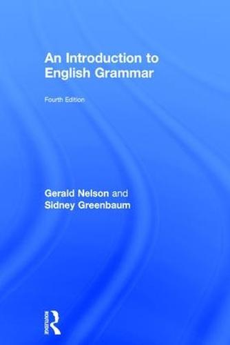 An Introduction to English Grammar (Hardback)