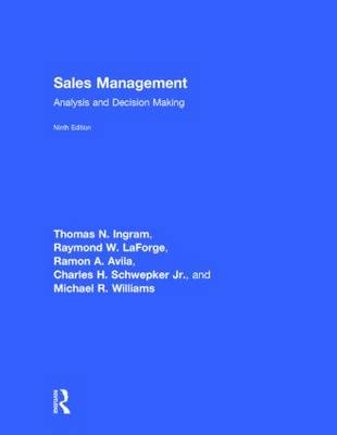 Sales Management: Analysis and Decision Making (Hardback)