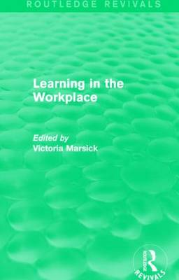 Learning in the Workplace - Routledge Revivals (Paperback)