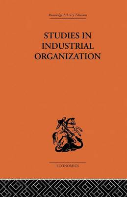 Studies in Industrial Organization (Paperback)