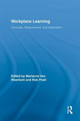 Workplace Learning: Concepts, Measurement and Application (Paperback)
