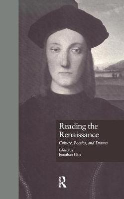 Reading the Renaissance: Culture, Poetics, and Drama (Paperback)