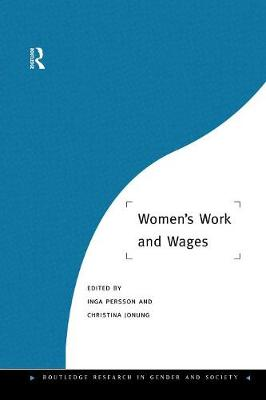 Women's Work and Wages (Paperback)