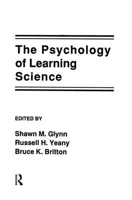 The Psychology of Learning Science (Paperback)