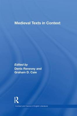Medieval Texts in Context (Paperback)