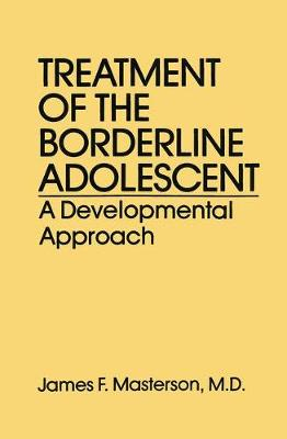 Treatment Of The Borderline Adolescent: A Developmental Approach (Paperback)