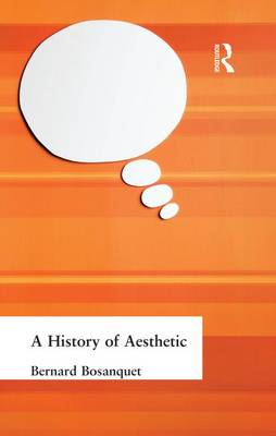 A History of Aesthetic (Paperback)