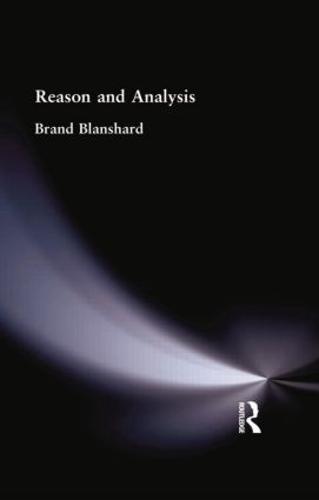 Reason and Analysis (Paperback)