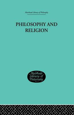 Philosophy and Religion (Paperback)