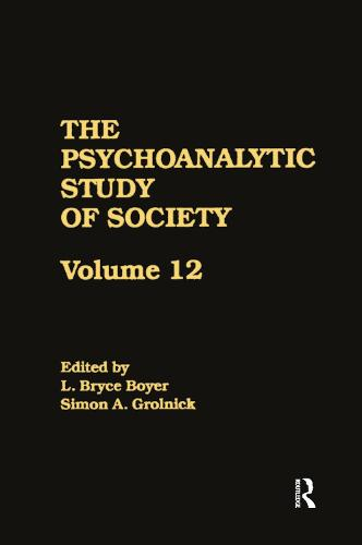 The Psychoanalytic Study of Society, V. 12: Essays in Honor of George Devereux (Paperback)