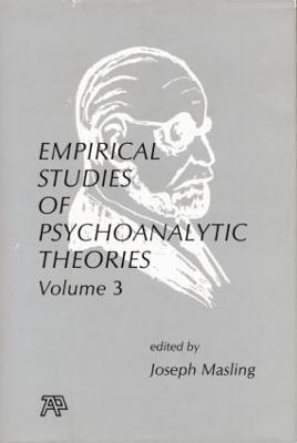 Empirical Studies of Psychoanalytic Theories, V. 3 (Paperback)