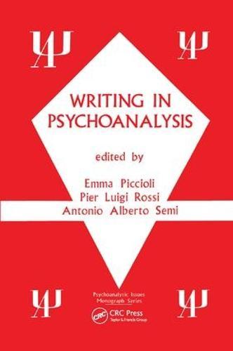 Writing in Psychoanalysis (Paperback)
