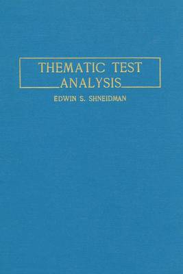 Thematic Test Analysis (Paperback)