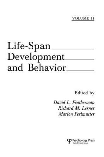Life-Span Development and Behavior: Volume 11 (Paperback)