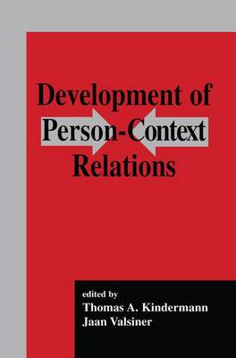 Development of Person-context Relations (Paperback)