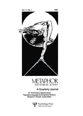 Figurative Language and Cognitive Science: A Special Issue of metaphor and Symbolic Activity (Paperback)