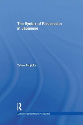 The Syntax of Possession in Japanese (Paperback)