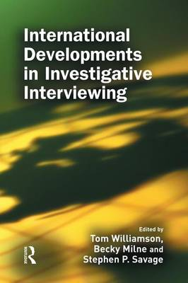 International Developments in Investigative Interviewing (Paperback)