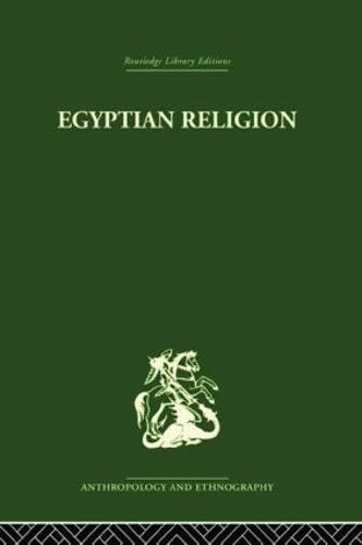 Egyptian Relgion (Paperback)