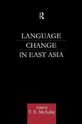 Language Change in East Asia (Paperback)