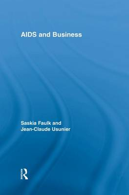 AIDS and Business - Routledge Advances in Management and Business Studies (Paperback)