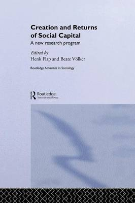 Creation and Returns of Social Capital (Paperback)