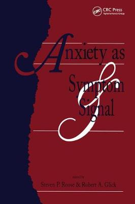 Anxiety as Symptom and Signal (Paperback)