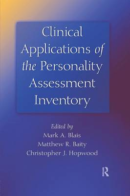 Clinical Applications of the Personality Assessment Inventory (Paperback)