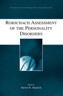 Rorschach Assessment of the Personality Disorders (Paperback)