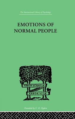 Emotions Of Normal People (Paperback)
