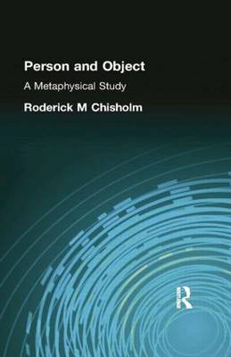Person and Object: A Metaphysical Study (Paperback)