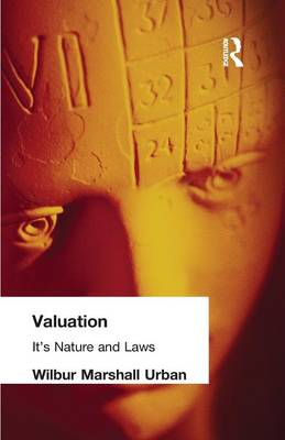Valuation: Its Nature and Laws (Paperback)