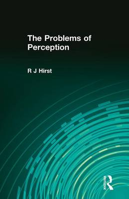 The Problems of Perception (Paperback)