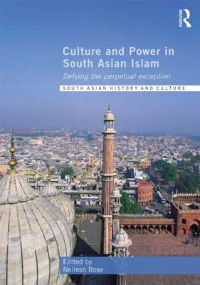 Culture and Power in South Asian Islam: Defying the Perpetual Exception - Routledge South Asian History and Culture Series (Hardback)