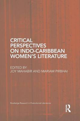 Cover Critical Perspectives on Indo-Caribbean Women's Literature