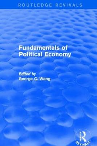 Revival: Fundamentals of Political Economy (1977) - Routledge Revivals (Paperback)