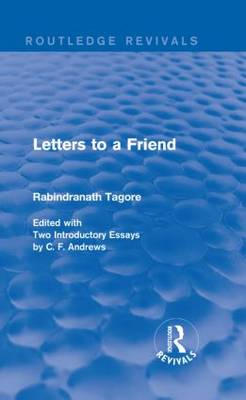 Letters to a Friend - Routledge Revivals (Hardback)
