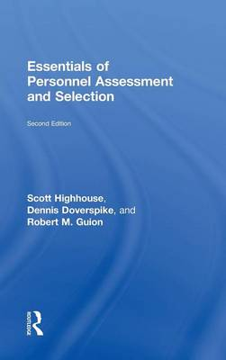 Essentials of Personnel Assessment and Selection (Hardback)