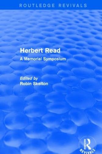 Herbert Read: A Memorial Symposium (Paperback)