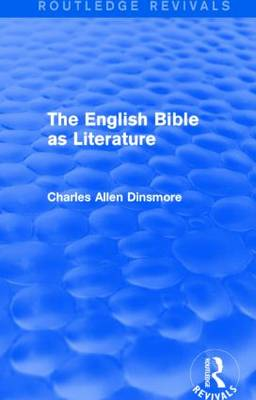 The English Bible as Literature (Paperback)
