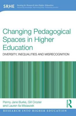 Changing Pedagogical Spaces in Higher Education: Diversity, inequalities and misrecognition - Research into Higher Education (Paperback)