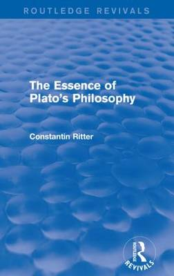 The Essence of Plato's Philosophy (Paperback)